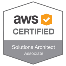 Associate level AWS Solution Architect certificate